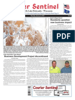 January 8, 2015 Courier Sentinel