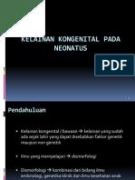 Kelainan Kongenital Pada Neonatus