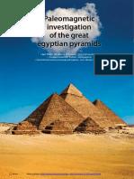 1 Paleomagnetic Investigation of the GreatEgyptianPyramids (Tunyl&El-hemaly)