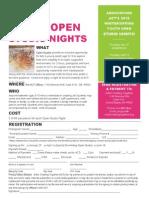 ACT Youth Open Studio Nights