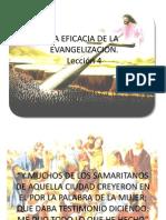 La Eficacia de La Evangelizacion
