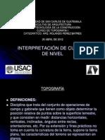 Presentación Interpretación de Curvas de Nivel octubre 2014.pdf