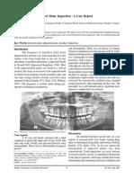 Inverted Maxillary Third Molar Impaction