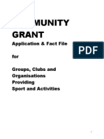 Community Grant New July 13