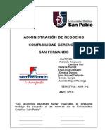 Trabajo Final de Conta Gerencial San Fernando