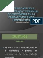 CONTRIBUCIÓN DE LA ENFERMERÍA EN LA FARMACOVIGILANCIA HOSPITALARIA.pptx