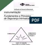 Fundamentos e Princípios de Seguranca Intrinseca - Instrumentação (SENAI/CST)