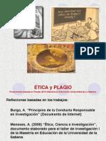 La Ética y El Plagio 2014 Copia