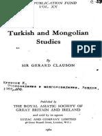 Turkic And Mongolian Studies