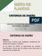 10. Criterios de Diseño