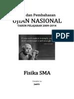 Soal Bahas Fisika SMA 2009-2014
