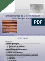 Termodinamica de La Corrosión a Altas Temperaturas - Copia (1)