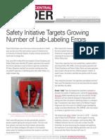 insider lab labeling errors