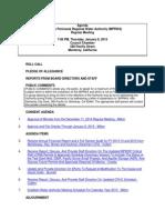 MPRWA Agenda Packet 01-08-15