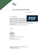 Carta de Recomendacion Fernanda Moya