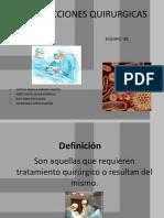 Infecciones Quirúrgicas EQP 2