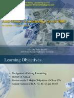 Anti-Money Laundering Act of 2001-Update 10365-b