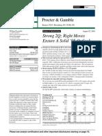 PG Analyst Report