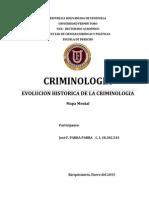 EVOLUCION HISTORICA DE LA CRIMINOLOGIA.- José F. PARRA PARRA