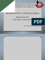 Programacion y Control de Obras...JONAS