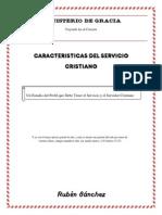 Caracteristicas Del Servicio Cristiano