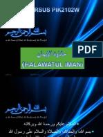 Haalawatul Iman