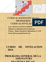 1b_que Es La Matematica_proceso Enseñanza Aprendizaje