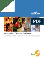 Productividad y Calidad de Vida Laboral