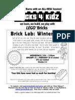 After School Lego Jan & Feb 2015