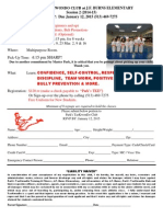 After School TaeKwonDo Registration Form