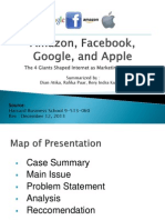 Amazon, Facebook, Google and Apple Case Study