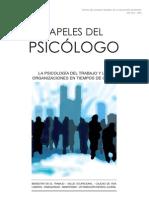papeles del psicólogo