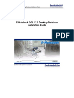 E-Notebook SQL 12.0