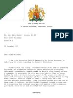 Russian Revolution Letter