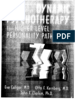 Kernberg, Handbook of Dynamic Psychotherapy for Higher Level Personality Pathology