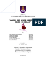 Sample of Biz Plan - Etr300 -Alaska Hot Scoop