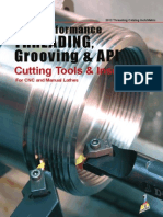 Dorian Tool Threading Grooving and API Catalog