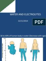 Water & Electrolyte Balance