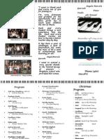brochure piano recital 2014