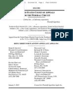 15-01-05 Apple Reply Brief in Appeal of Denial of Injunction