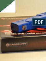 LaserLyte's Trigger Tyme™ Laser Training Pistol