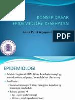 Konsep Dasar Epidemiologi Kesehatan