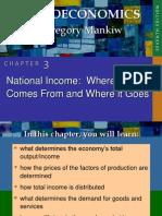 Macroeconomics Mankiw Chapter 3
