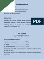 Análisis estructural presentacion