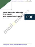 Artes Marciales Manual Informacion