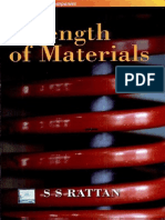Strength of Materials by s s Ratan Text Book