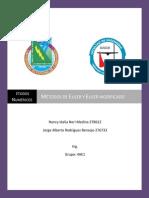 Métodos de Euler y Euler Modificado
