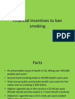 Financial Incentives to Ban Smoking-SCRIBD