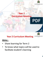 year 2- term 2 curriculum preview meeting 2015 for parents