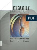 Mathematica for Physics 2nd Ed - R. Zimmerman, F. Olness (Addison-Wesley, 2002) WW